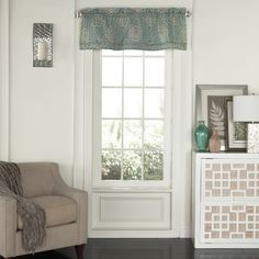 "Found it at Wayfair - Moonlight Medallion 52"" Valance"