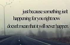 i dont wana be patient thought!
