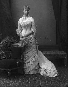 Princess Victoria of Hesse and by Rhine, Later Marchioness of Milford Haven.