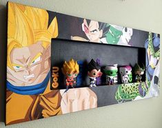 [Acrylic Painting] Dragon Ball Z Funko Shadow Display on Behance