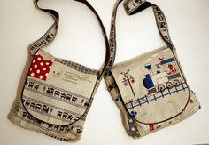 Crecido coser: Scavenger Bolsa Tutorial