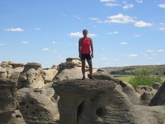 Writing On Stone Park-The Hoodoos