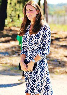 Catherine, Duchess of Cambridge, wearing Diane von Furstenberg in  Australia  April 2014 #katemiddleton