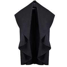 Yonala Women's Open Stitch Turn-down Collar Casual Trench Coat Cape Jacket Yonala http://www.amazon.com/dp/B016KH7IVU/ref=cm_sw_r_pi_dp_UVwHwb08HWQQH