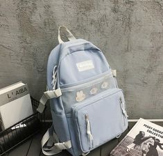School Bags, New Fashion, Fashion Backpack, Street Style, Backpacks, Casual, Accessories, Shopping, Women