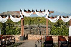 February Wedding Ceremony @Wiens Cellars Weddings. Simple and Elegant.