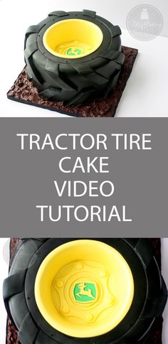 McGreevy Cakes: How to make a tractor tire cake!
