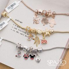 Vem gente!! Recebemos pulseiras com pingentes folheados a ouro #semijoia 😍😍😍 Pulseira R$44,00 cada | pingente R$22,90 cada | pingente…
