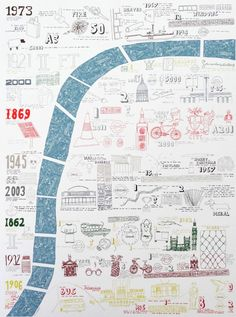 Harriet Lyall - 3.2 Miles / 9 Bridges - London map