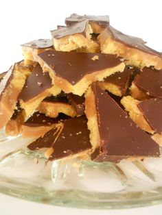 Salted Shortbread Toffee