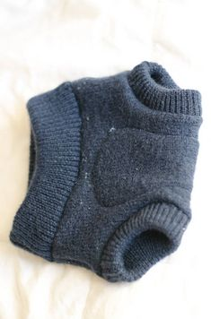 Upcycled Wool Diaper Soaker - CLOTHING