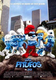 ver Los Pitufos (The Smurfs) 2011 online descargar HD gratis español latino subtitulada