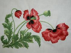 ru / Photo # 100 - A flower mood needle - Hand Embroidery Videos, Free Machine Embroidery Designs, Hand Embroidery Stitches, Hand Stitching, Embroidery Patterns, Cross Stitch Patterns, Cutwork Embroidery, Simple Embroidery, Baby Knitting Patterns