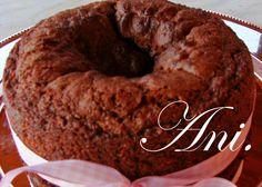 La Cocina de Ani: EL BIZCOCHO DE CHOCOLATE (con yoghurt de trufa)