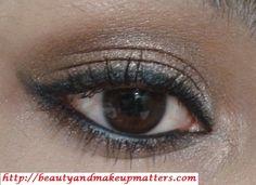 Eye Makeup Tutorial – Shimmery Bronze Soft Smokey Eyes