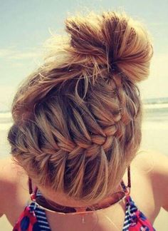 medium hair braids updo bun tutorials medium hair braids updo bun tutorials …