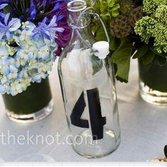 Wedding Table Idea!