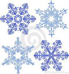 Snowflakes - Possible tattoo patterns