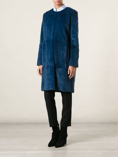 Moka London 'marilyn' Coat - The Shop At Bluebird - Farfetch.com