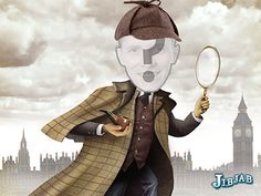 Sherlock Holmes  eCard - Personalized Profile Pics eCards - JibJab.com Sherlock Holmes, Ecards, Profile Pics, Anime, Art, Gifts, E Cards, Art Background, Presents