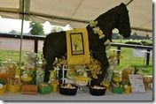 Yellow & Black Candy Dessert Buffet for Derby Theme Party- Sweet Event Design  www.sweeteventdesign.com