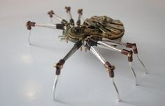 Steampunk Style Insect Sculptures Are Beautifully Strange (Pics) : TreeHugger