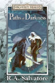 Paths of Darkness collection includes The Silent Blade, The Spine of the World, Servant of the Shard, and Sea of Swords by R.A. Salvatore