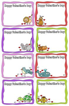 Preview Animal Valentine Cards