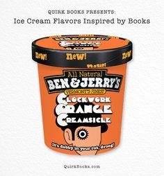 Quirk Books réinvente les pots Ben & Jerry's