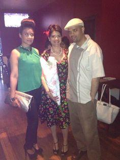 With Yarissa David's girl