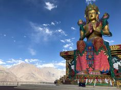 Showcasing the Incredible side of India Mongolia, Ladakh India, Maitreya Buddha, Tibetan Buddhism, Incredible India, Wonderful Places, Places To See, Travel Inspiration, Religion