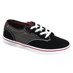 GLOBE Motley shoes black dark red skateshoes 65,00 € #globe #globeaustralia #globeshoe #globeshoes #shoes #skateshoes #skate #skateboard #skateboarding #streetshop #skateshop @playskateshop