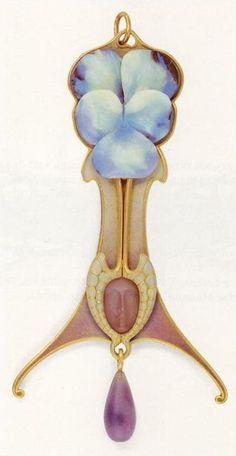 Lalique, Art Nouveau Artists Very nice page for Art Nouveau Bijoux Art Nouveau, Art Nouveau Jewelry, Jewelry Art, Vintage Jewelry, Fine Jewelry, Jewelry Design, Antique Jewellery, Fashion Jewelry, Vase Lalique
