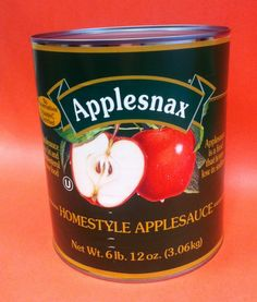 Homestyle Applesauce has no preservatives, is vitamin C enriched, low in sodium and is a fat free and cholesterol free food.