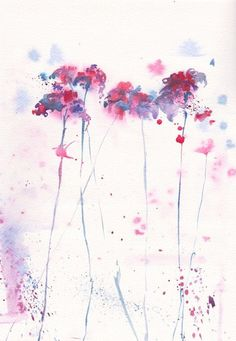 dandelion watercolor painting - Google Search