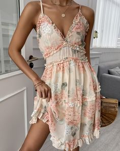 Dressy Dresses, Cute Dresses, Short Dresses, Chic Type, Gypsy Dresses, Eyelet Lace, Chic Outfits, Girl Outfits, Dress Me Up