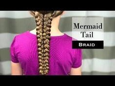 Mermaid Tail Braid How To by Holster Brands