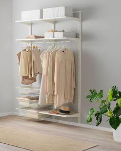 13 Best Places To Buy Closet Systems - Best Closet Systems Modular Closet Systems, Best Closet Systems, Modular Closets, No Closet Solutions, Best Closet Organization, Do It Yourself Organization, Organization Ideas, Storage Ideas, Closet Ikea