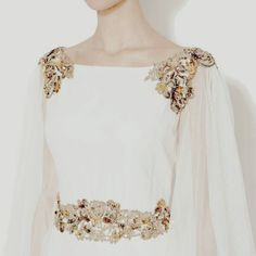 A Classically Feminine Style Embellished With Jewelled Shoulders and Jewelled Belt/Sash Greek Gods And Goddesses, Greek Mythology, Look Fashion, Womens Fashion, Daughter, Fancy, Female, Wedding Dresses, How To Wear