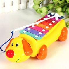 Niño Del Perrito Arrastrar La Música Del Piano De Juguete Para Niños Pequeños Perro Tipo De Inteligencia Musical Instrument