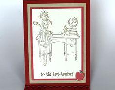 Teacher Appreciation Card Teacher Thank You by BellaBoutique23