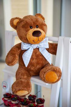 Detalhe Decor Urso Festa de Brinquedos Antigos