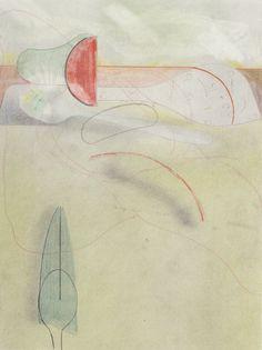 Sunset, Sabrina Pohl, pencils and chalks, 23 x 29 cm abstract contemporary art Contemporary Art, Sunset, Abstract, Summary, Sunsets, The Sunset, Modern Art, Contemporary Artwork