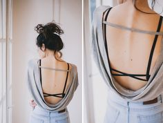 Buy Essentials for Zula Scissor Cut Bralette - Lush Grey from the Mi Magazine E-Shop- the best the London Look shopping destination.