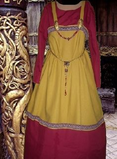 SCA Garb Norse Viking Medieval Gown 2 Piece by camelots0closet, $62.00