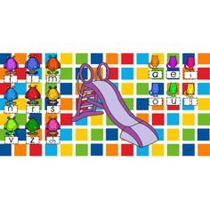 TNI - Glissade des sons Tni Maternelle, Teaching Tools, Teacher Resources, Literacy Activities, Activities For Kids, French Resources, Reading Centers, Folder Games, Learning The Alphabet