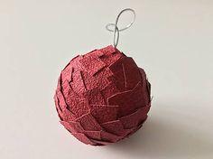 HomeDecor / Vianočné gule - červené