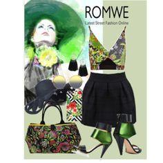 zipper skirt, Romwe contest