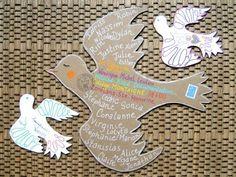 C'est (re)parti ! Art Postal, Mail Art, Awesome Art, Art Journals, Peace, Learning, School, Envelopes, Packaging