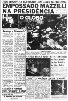 O apoio da grande mídia ao golpe de 64 - Zonacurva